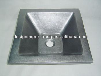 Gegoten messing aluminium koper ijzer roestvrij staal wastafel