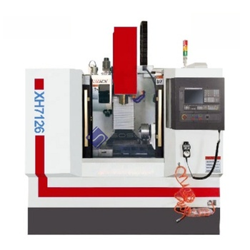 XH7126 Mini cnc vertical milling machine machining center price