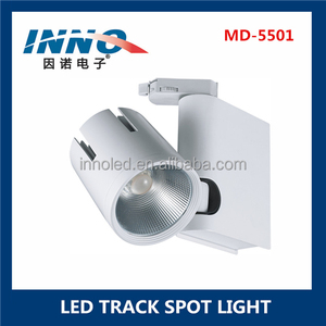 INNO 20W LED Track Lighting Heads Daylight White 5000K High CRI LED Track Rail Lighting