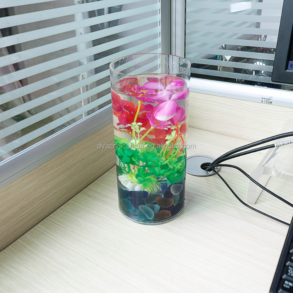 Wholesale China Plastic Flower Vase Stand With Office Style