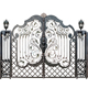 Best price latest modern house wrought iron steel main gate designs