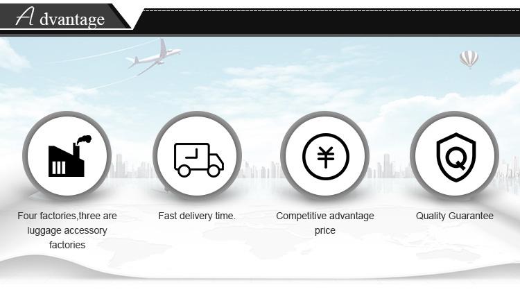 Modo di alta qualità di valigie di viaggio dei bagagli con quattro ruote