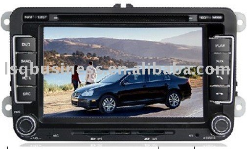 7inch 16:9 Motorized TFT LCD monitor VW Volkswagen 800x480, IPOD, TV, Bluetooth