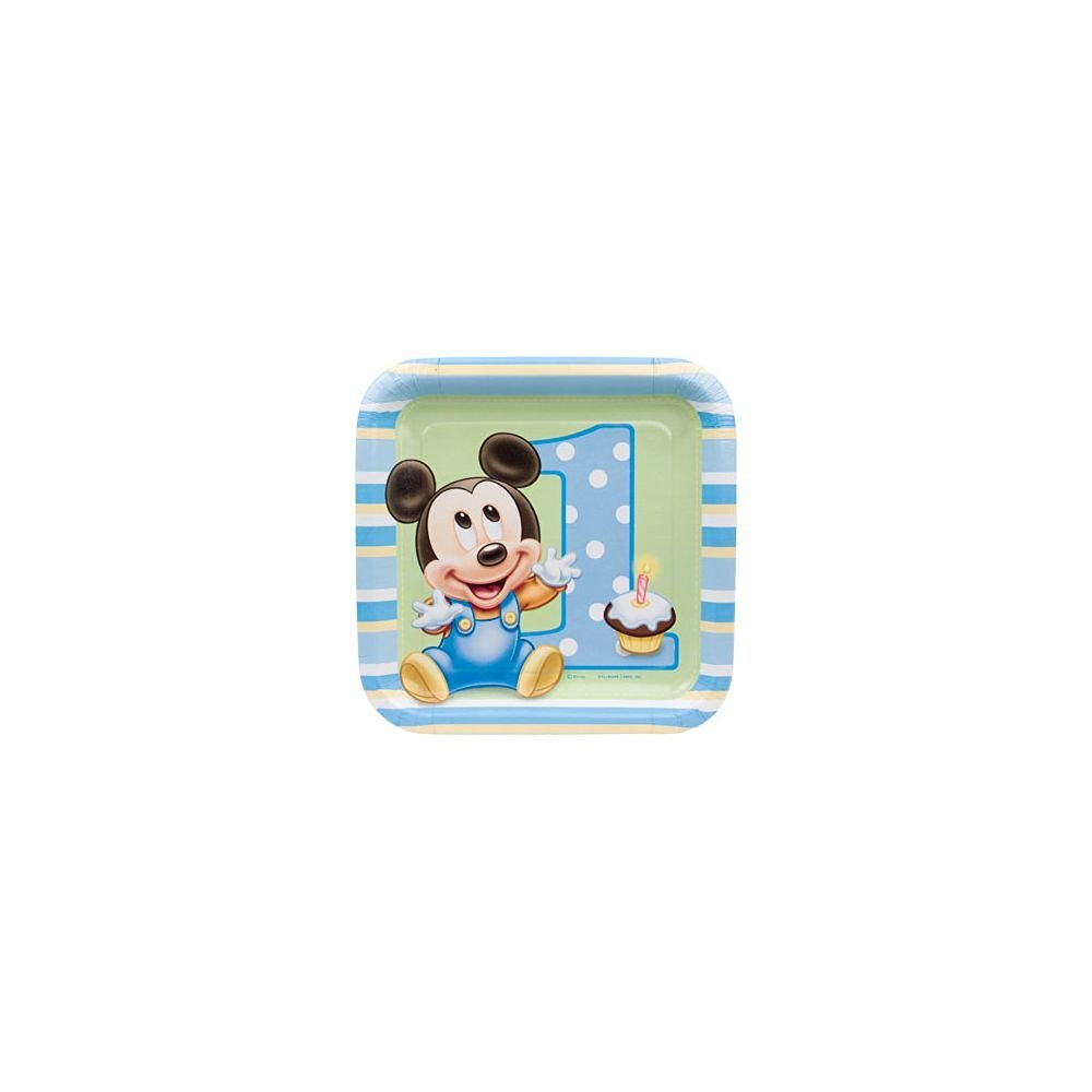 Get Quotations · Mickey Mouse 1st Birthday Small Paper Plates (8ct)  sc 1 st  Alibaba & Cheap Mickey Mouse Plastic Plates find Mickey Mouse Plastic Plates ...