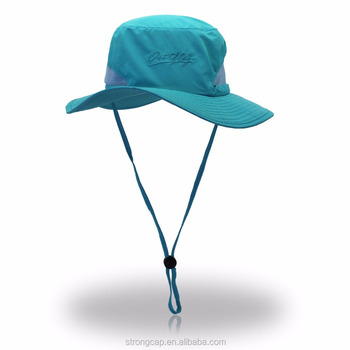 a1518ae4 2017 Summer Style Outdoor Waterproof Bucket Hat Foldable Quick Drying  Fishing Cap Boonie Sun Hats For
