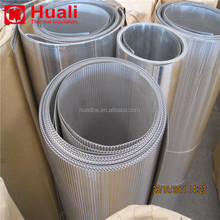 Ribbed aluminum perforated corrugated metal panels, groove corrugated aluminum sheet for pipe