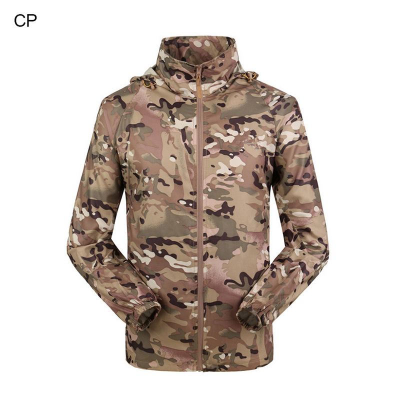 military waterproof ultra-thin breathable jacket for hunting HK34-0063