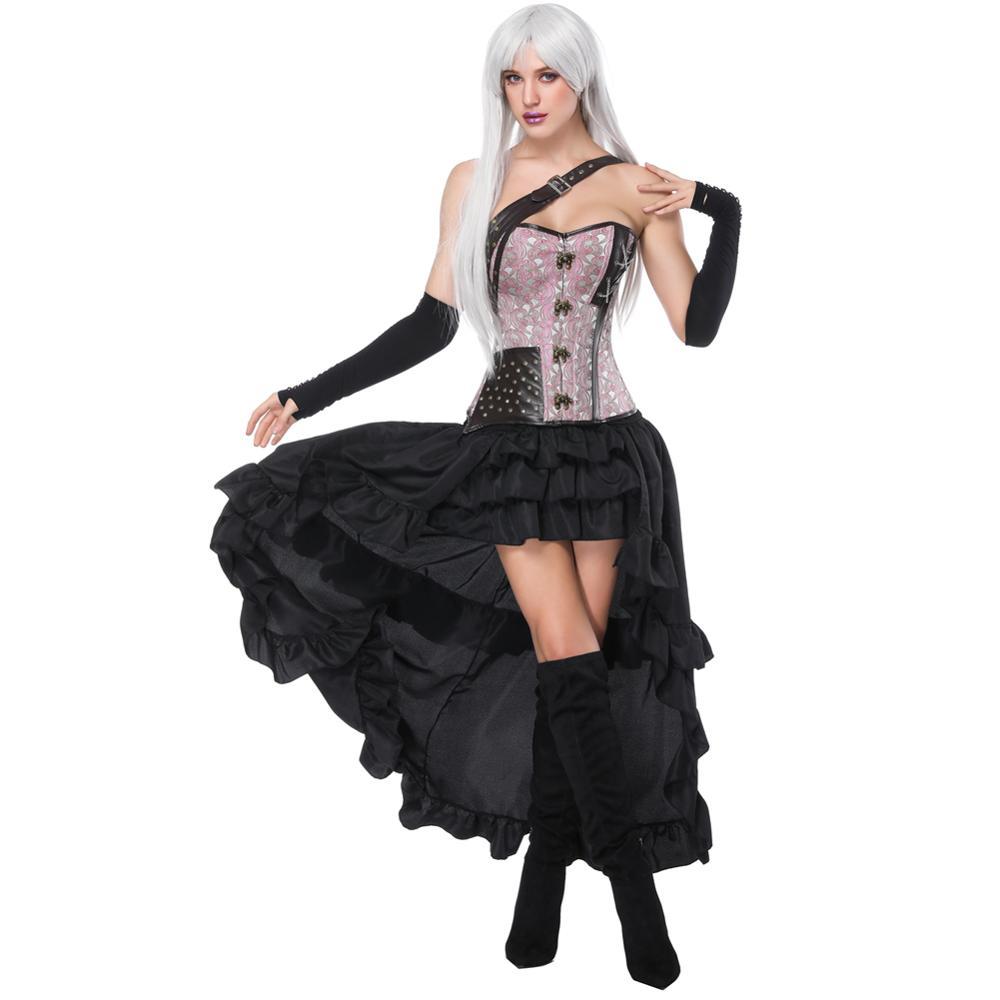 d99e8f9531d Pink Corset Skirt