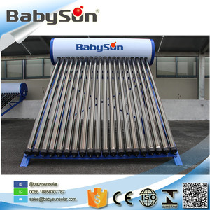 Heat pipe pressure solar water heater system,solar hot water