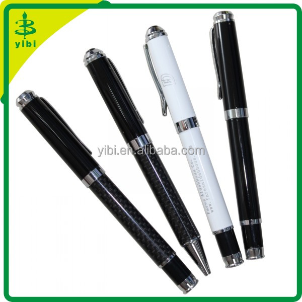 JHS-Y100 Carbon fiber ballpen hot sales eco friendly branded pens