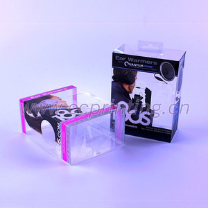 PVC/PP/PET Packaging Clear Plastic Box For Baby Products
