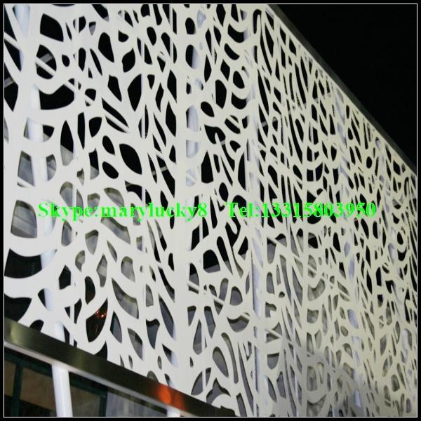 Decorative Perforated Metal Wall Paneldecorative Aluminum