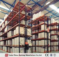 China good manufacturer ISO customized warehouse storage pallet rack