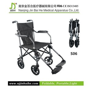 Traveler folding light portable mini mobility wheelchair