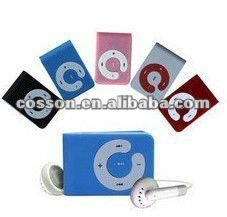 NEW MINI Clip MP3 <strong>Player</strong> with card slot Support 8GB- 2GB Micro TF card