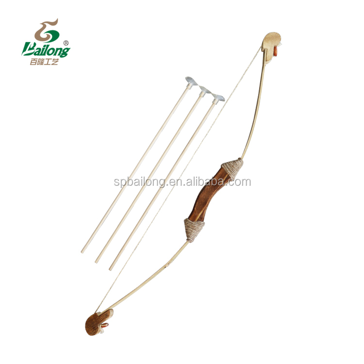 15 years factory ready to ship kids outdoor wooden bow and arrow toy