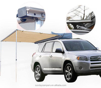 Sunny Car 4x4 Awning - Portable Folding Retractable Rooftop Sun Shade Shelter