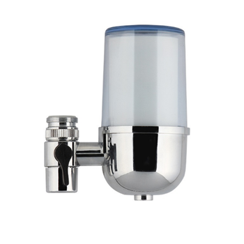 Manufacture Tap faucet water filter with activated carbon/Kitchen Faucet Mounted Carbon Household Water Purifier