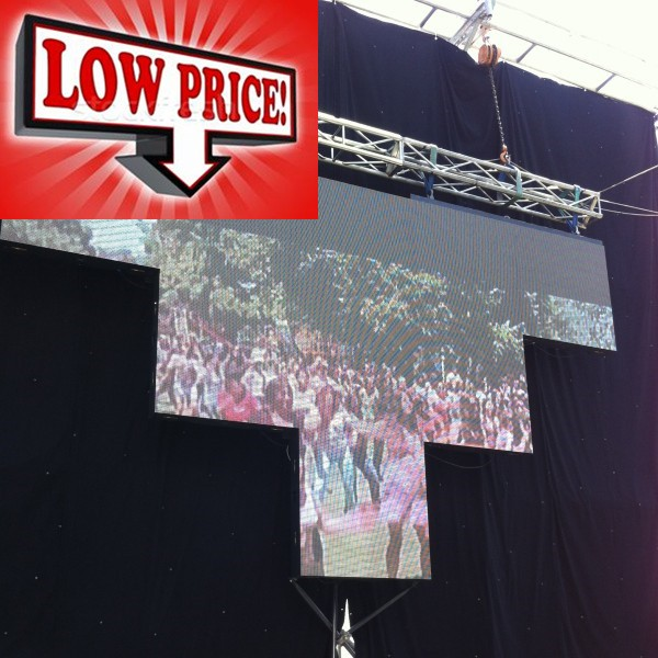 P3.91 Portable Outdoor Rental LED Display