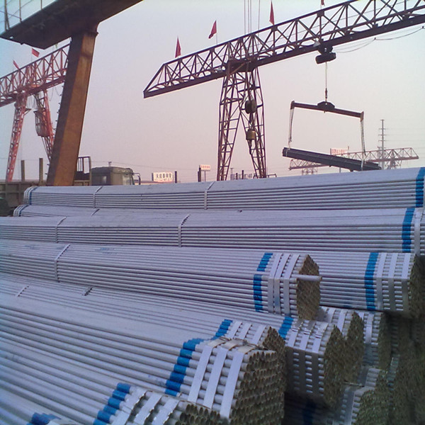 galvanized square steel pipe/ gi steel tube, good quality goods in China factory