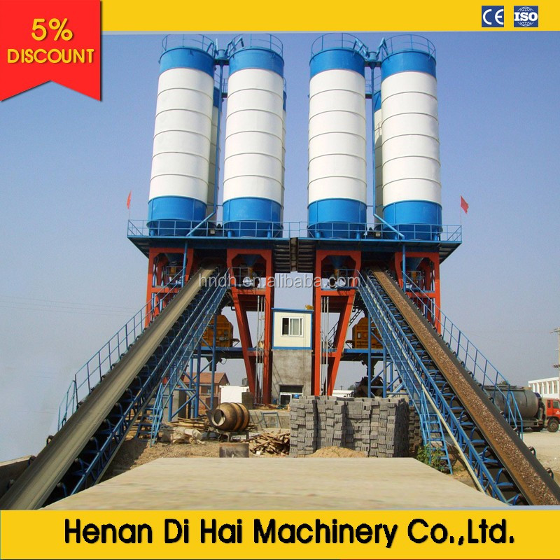 Factory sale directly HZS120 concrete mixing plant get price now