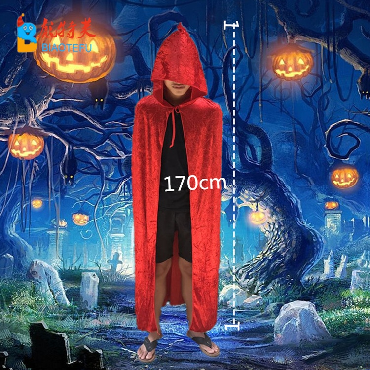 halloween party velvet noble vampire cosplay cape