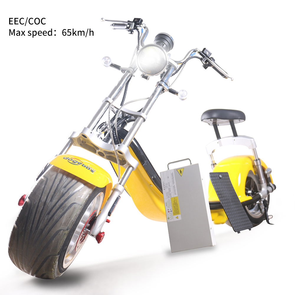 Dogebos Sc Eec Coc14 Powerful  Mobility Motorcycle Europe Warehouse Citycoco Electric Scooters