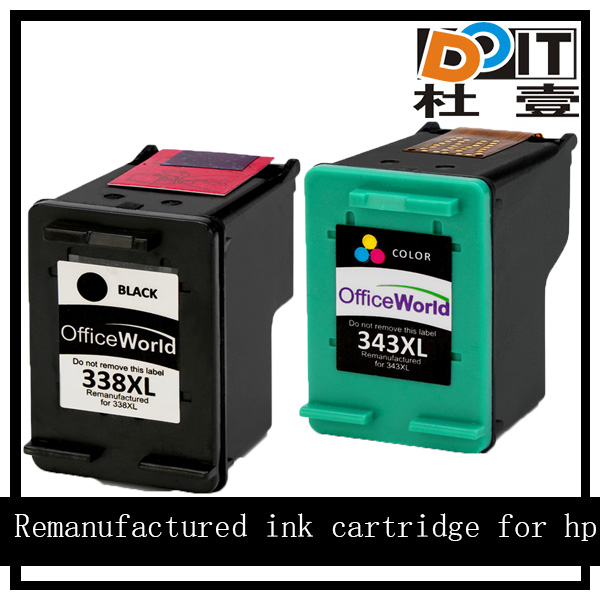 Oem products refill ink inkjet cartridge for hp 338 343 338xl 343xl
