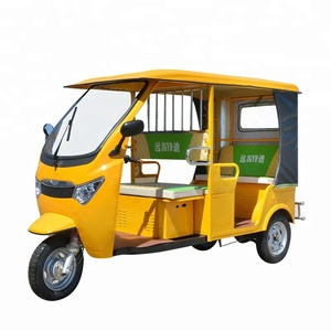 Cheap Tuk Tuk Taxi India 3 Wheel Adult Passenger E Tricycle