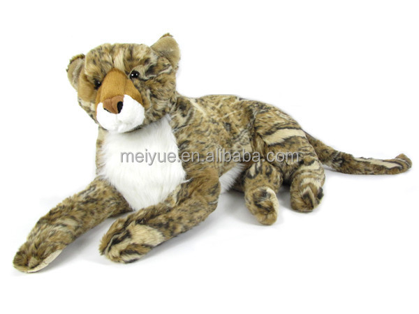 Best Made Toys Lifelike Large Stuffed Plush Animal Snow Leopard