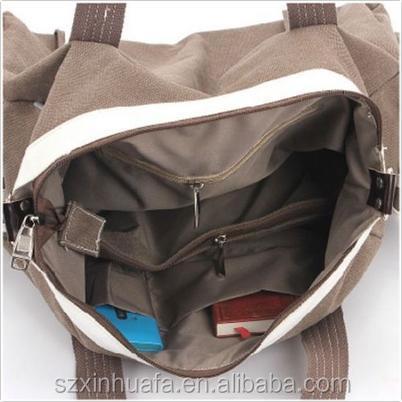 canvas handbag, vintage canvas totes, ladies canvas bag