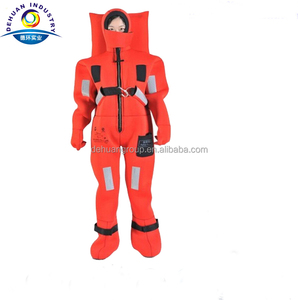 Neoprene immersion suit with EC/MED certificate