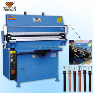 belt processing machine / leather belt making machine
