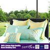 eco friendly Luxurious Purple Embroidery King Size Comforter Sets Cozy Bedding Set