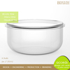 Round Pyrex Glass Heat Resisting Food Container