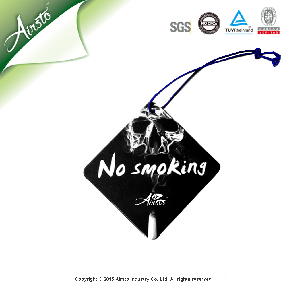 Fine Fragrance Car Air Fresheners With Own Logo Car Paper