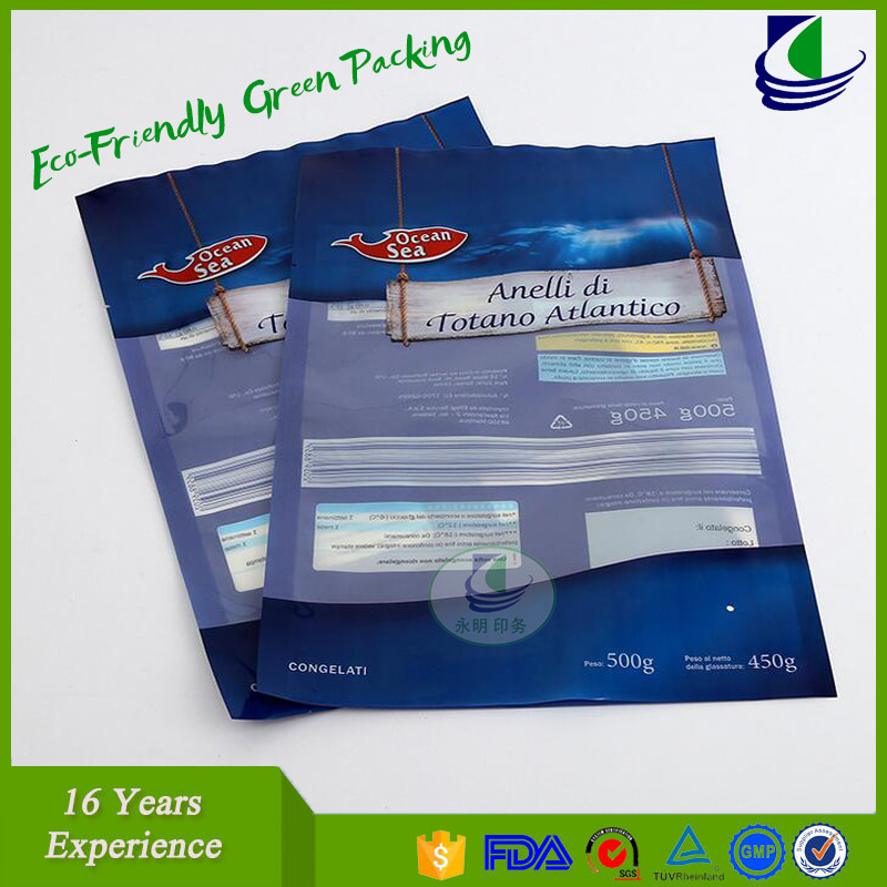 Customized type PA/PE side mentalized vacuum bag