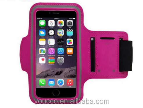 On Line Shopping Mobile Phone Case Neoprene Armband Arm Bag