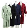 100% cotton chenille bathrobes Velour Bathrobe for men