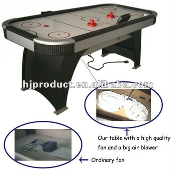 Professional Air Hockey Table With High Quality Fans And Big Air Blower -  Buy Professional Air Hockey Table,Air Hockey Table,Air Powered Hockey Table