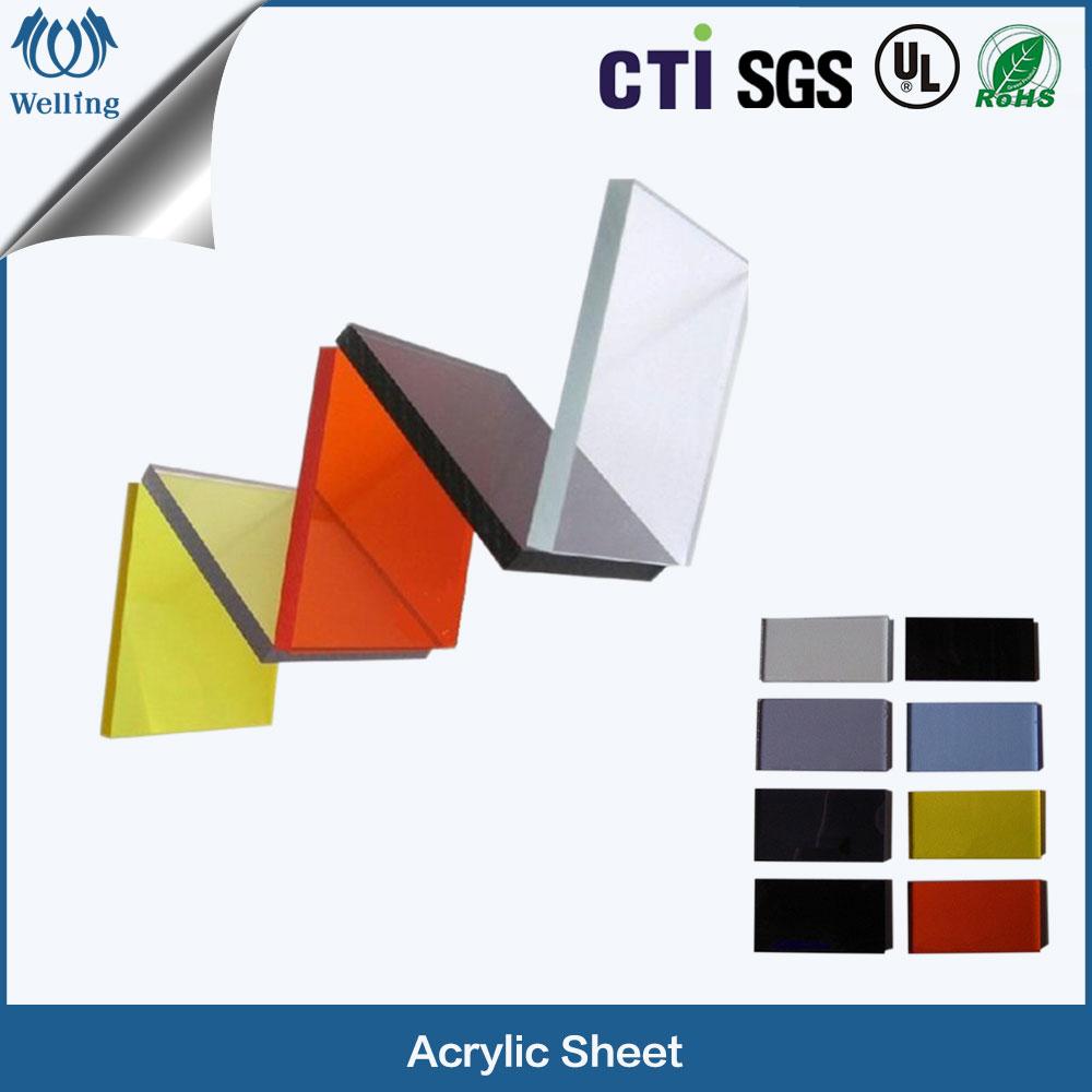 1 acrylic sheet