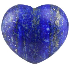 Natural Lapis Lazuli Crystal Quartz Healing Carving Craft Polished Heart Shape Crystal