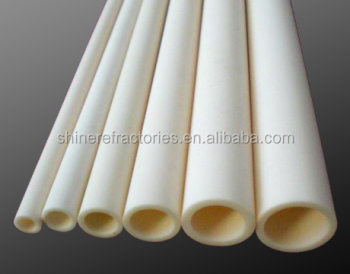 99.7% high alumina ceramic tube