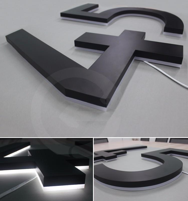 Manufactuer plastic luminous house numbers channel letters for Plastic house letters