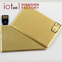 Promotional Gift Usb Flash Drive Metal Card Usb Fast Delivery With Low Price