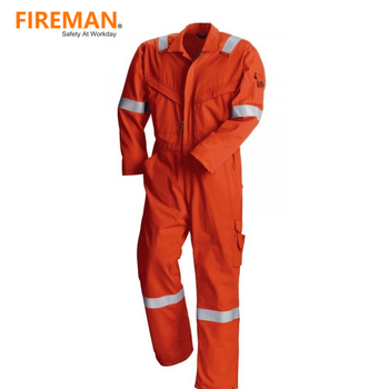 manufacture flash fire protective safety clothing flame proof fire retardant coverall