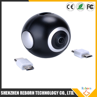 2017 Newest Arrival 360 camera vr camera 4K fashion style wifi mini single lens 2448*2448 Ultra HD Panorama Degree 360*220 video