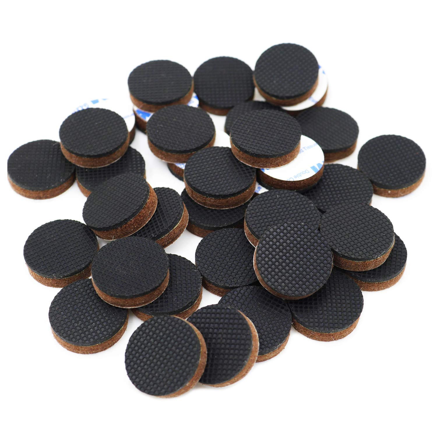 Get Quotations Dgq Premium 36 Pcs 1 Furniture Pad Rubber Feet Round With Felt Heavy