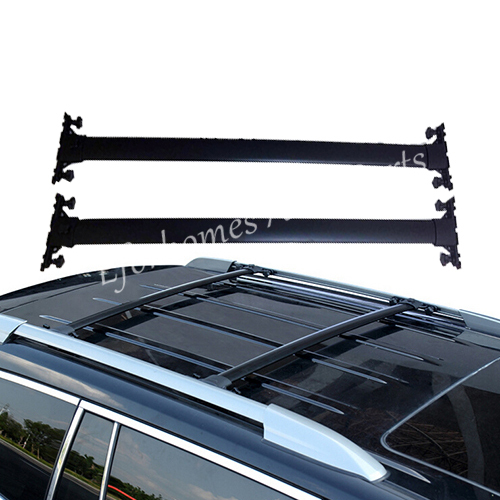 Hot Sale 08-13 for Toyota Highlander Roof Rack Luggage Aluminum Alloy Black Free Shipping