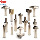 Diamond clear bottom straight cutters PCD straight bit woodworking tools